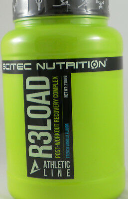 Recovery Shake (14,05€/kg Scitec Nutrition R3LOAD 2100g / Post Workout Shake / Balanced Recovery)