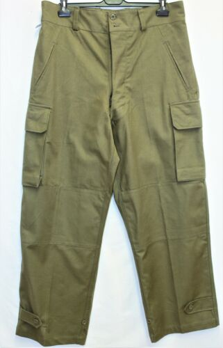 New Genuine Indochina French Army M47 Cargo Pants /Trousers dated 1953 W38 L45
