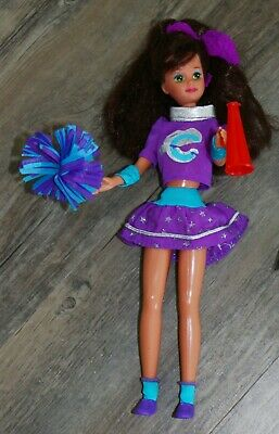Barbie/Skippers Friend- CHEERLEADING COURTNEY Doll - Vtg 1987  - Barbie Cheerleading