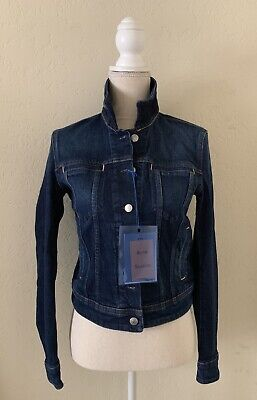 NWT Acne Studios Blå Konst Lamp Denim Jacket Size 36