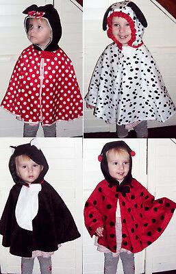 Baby Kinder Kostüm Fasching Karneval Katze Tier Hund Dalmatiner Maus (Baby Tier Kostüm)