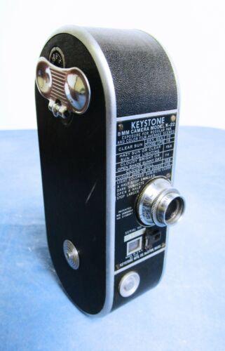 Vintage Keystone 8mm Film Camera Model K-22