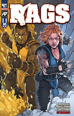 RAGS #4 TERUEL COSPLAY VARIANT ANTARCTIC PRESS HOT COMIC - Comic Cosplay