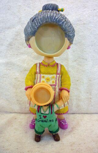 I Love Grandma Bobble Heads Picture Frame