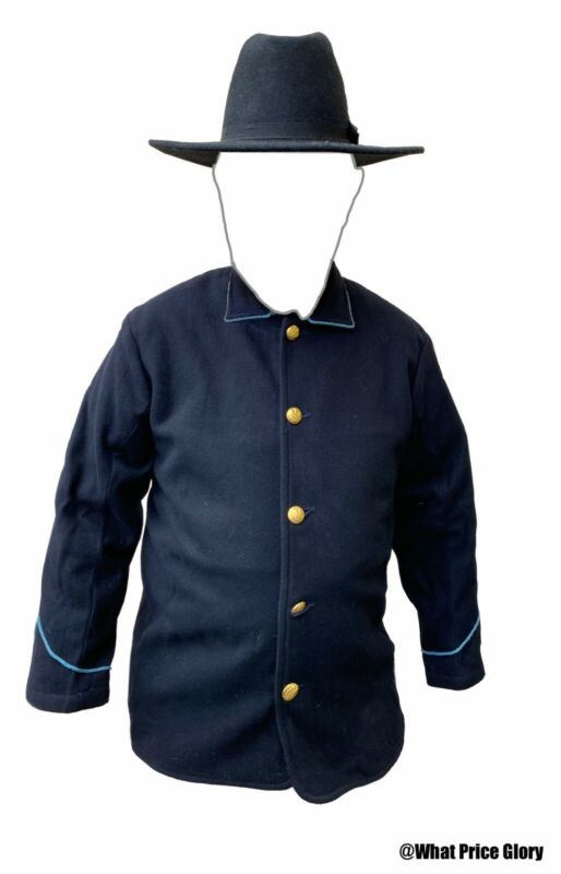 Model 1874 Wool Lined Blouse Blue Wool Infantry Size 40