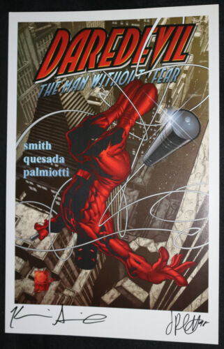 Daredevil Print - Signed by Kevin Smith and Jimmy Palmiotti