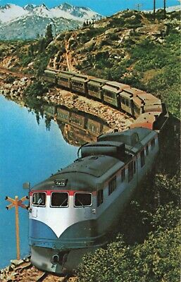 Postcard White Pass Narrow Gauge Railway Yukon, used for sale  Shipping to Canada