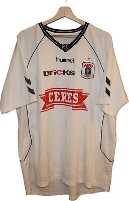 2009/10 AARHUS AGF Football SHIRT Jersey Tricot HUMMEL size 3XL Camiseta Maglia image