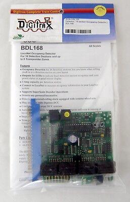 BDL168MZ ACCU-LITES 4001-E Digitrax Multizone Breakout Board Any Scale