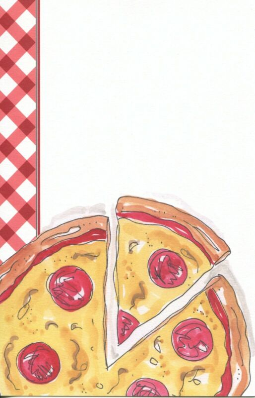 Rosanne Beck Pizza Party Box of 10 invitations