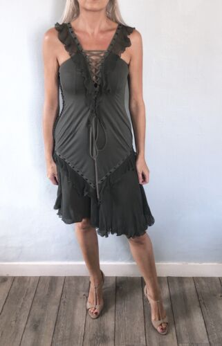 Robe en soie christian dior par john galliano  - taille 38