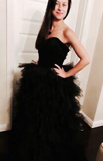 Black formal dress / ball gown