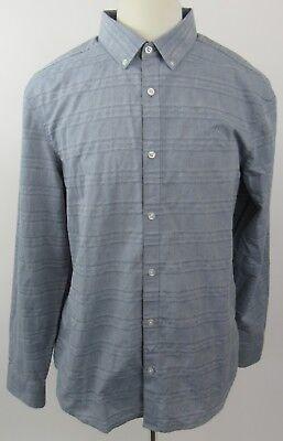 itage Slim Fit Long Sleeve Shirt, X-Large, Blue - MINT (Penguin Mints)