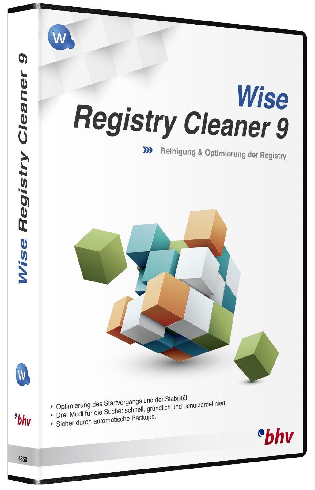 WISE Registry Cleaner 9