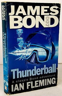 Thunderball, Ian Fleming, James Bond 007, Coronet Books Rare UK edition