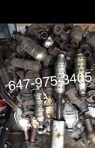 Cash! For scrap catalytic converters! 647-975-3405!top$!