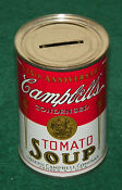 Campbells Tomato Soup Bank