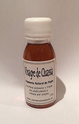 VINAGRE DE QUASSIA - REPELENTE NATURAL DE PIOJOS- 60 ml