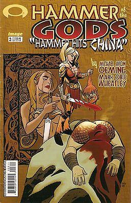 HAMMER OF THE GODS : HAMMER HITS CHINA #3<>IMAGE COMICS<>2003<>vf(8.0)  ~
