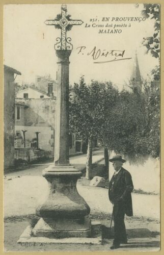 Frederic Mistral (1830-1914) - French writer - Signed photo - Nobel Prize 1904