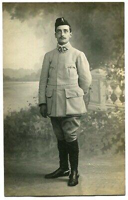CPA - Carte Postale - Militaria - Portrait d'un Homme en Tenue Militaire