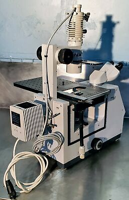 Zeiss Im Inverted Microscope 3 Objectives 100 Working Free Ship Watch Video