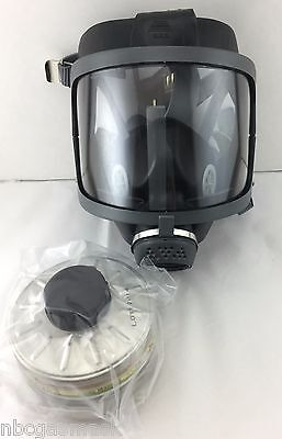 Scottsea Domestic Preparedness Fp Gas Mask With Filter Voice Amp
