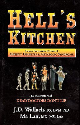 Hell's Kitchen Book OBESITY DIABETES METABOLIC SYNDROME Dr. Wallach FREE  CD