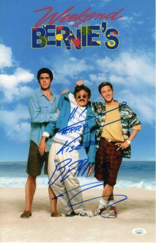 "Terry Kiser Autograph Signed 11x17 Photo - Weekend at Bernie's ""Bernie""(JSA COA)"