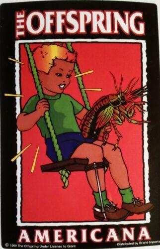 OFFSPRING--Rock Group Sticker--NEW--Vintage (1999) Vending Machine Sticker