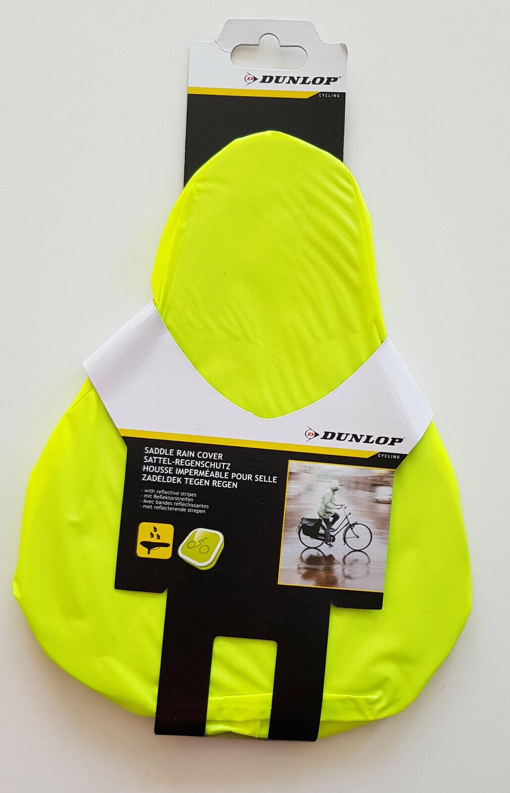 Dunlop Sattelüberzug Sattelschoner Regenschutz Fahrrad Fahrradsattel Sattelhülle