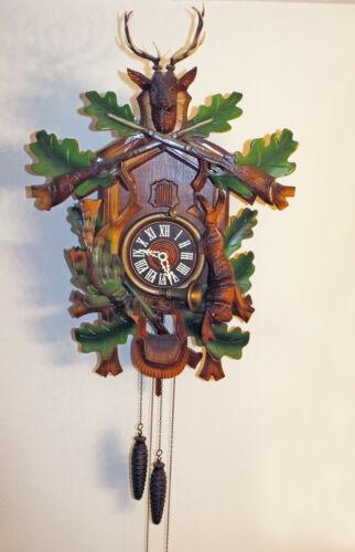 Bachmaier & Klemmer Lg.German Black Forest Cuckoo Clock 60