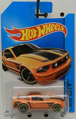2005 05 ORANGE 92 2014 CITY GT FORD MUSTANG HW HOT WHEELS for sale  Shipping to Canada