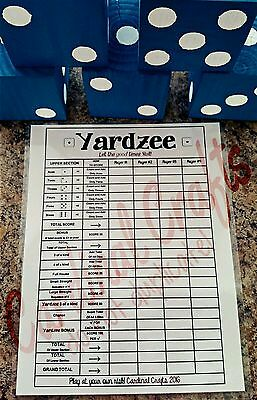 Другое Yardzee Outdoor Lawn Dice Game
