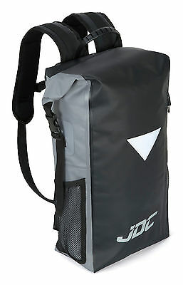 JDC Motorcycle Rucksack 100% Waterproof Dry Bag 30L - Black/Grey