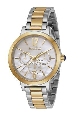 Invicta Women's Angel 31086 39mm White Dial Stainless Steel Watch