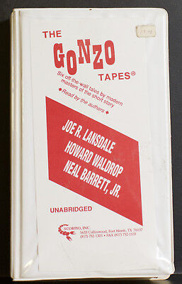 The Gonzo Tapes - 6 stories read by Howard Waldrop Neal Barrett Joe R. Lansdale