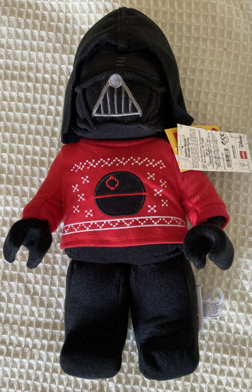 LEGO Star Wars Darth Vader 2020 Holiday Sweater Plush New With Tags