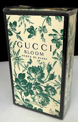 Gucci Bloom Acqua di Fiori 100ml. eau de toilette spray. Sealed in box.