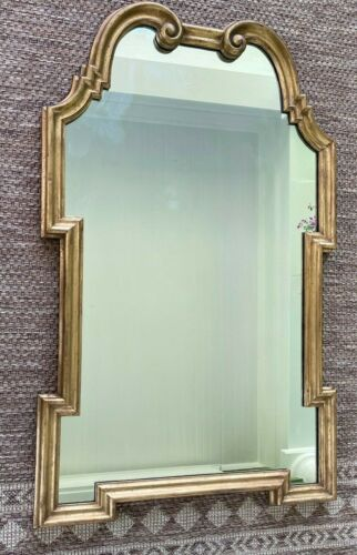 "Palladio Italy Gold Gilt Florentine Wall Mirror Neoclassical Regency 24x40"" MCM"
