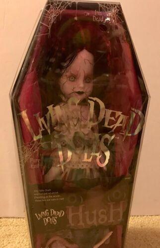 New 2003 Mezco  Living Dead Dolls Series 6 Hush Factory Sealed Coffin