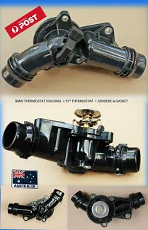 BMW THERMOSTAT HOUSING, SENSOR,THERMOSTAT & GASKET BMW******2006 Buderim Maroochydore Area Preview