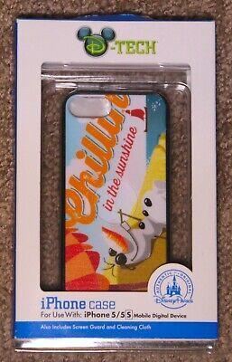 Frozen Olaf Summer Beach D-tech (Disney-Tech) - iPhone 5 Case - Disney Parks