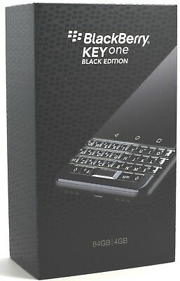 BlackBerry KEYone Black Edition 64GB BBB100-2 (FACTORY UNLOCKED) 4GB RAM 4.5""