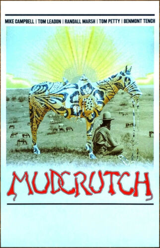 MUDCRUTCH 2 II Ltd Ed New RARE Litho-Style Poster +FREE Rock Poster! TOM PETTY