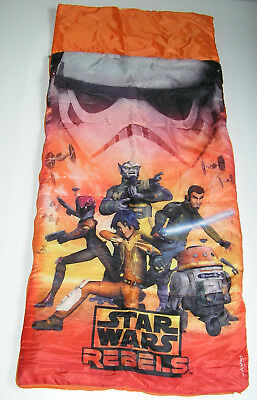 Kinderschlafsack Star Wars Rebels 140 x 60 cm Kids Schlafsack Kinderdecke (Star Wars Kid)