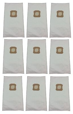 (9) Vacuum Bags for Kirby Ultimate G, Diamond Edition, HEPA Micron Cloth White Cloth Hepa Vacuum Bags