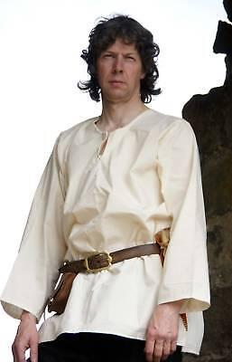 Mittelalterlich /Larp/ Sca Nachstellung Einfach Shirt in Alle Größen (Einfache Herren Kostüm)