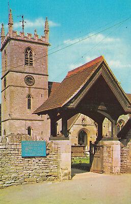 (04531) Postcard Bladon Parish Church