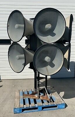 Tornado Warning Siren Horn For Towncommunity Federal Signal Corp Eows 1212